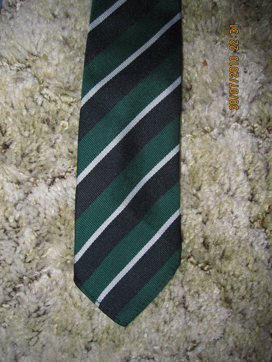 Yes I still do have my school tie... :)