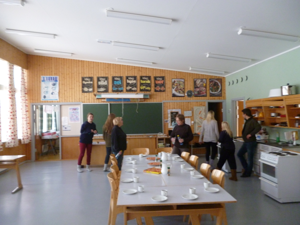 The School Eating Area